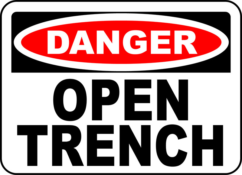 Danger Open Trench